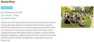 garden party details