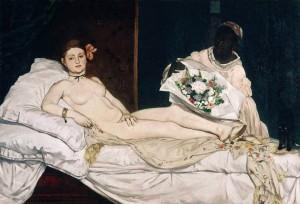 Olympia, Manet 1863