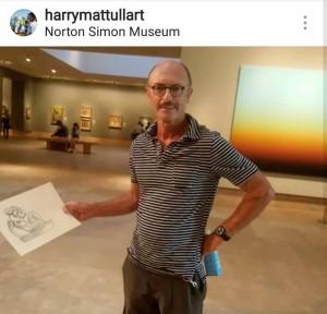 Ep 2 Guest, Harry Mattull.  Check out his art on Instagram at @harrymattullart