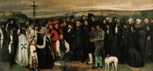 Gustave Courbet, Burial at Ornans 1849-50