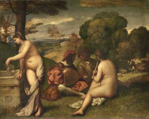 Titian's Pastorial Concert, 1509